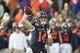 Dec 17, 2016; Albuquerque, NM, USA; UTSA Roadrunners quarterback Dalton Sturm (14) throw the ball against the UTSA Roadrunners defense at University Stadium. Mandatory Credit: Ivan Pierre Aguirre-USA TODAY Sports