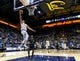 Dec 17, 2016; Berkeley, CA, USA; California Golden Bears guard Sam Singer (2) takes a lay-up against the Cal Poly Mustangs in the first period at Haas Pavilion. Mandatory Credit: John Hefti-USA TODAY Sports