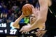 Dec 17, 2016; Berkeley, CA, USA;  Cal Poly Mustangs guard Kyle Toth (13) shoots against the California Golden Bears in the second period at Haas Pavilion. Cal won 81-55. Mandatory Credit: John Hefti-USA TODAY Sports