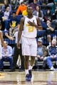 Dec 17, 2016; Berkeley, CA, USA;  California Golden Bears guard Jabari Bird (23) reacts in the game against the Cal Poly Mustangs in the second period at Haas Pavilion. Cal won 81-55. Mandatory Credit: John Hefti-USA TODAY Sports