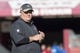January 1, 2017; Santa Clara, CA, USA; San Francisco 49ers head coach Chip Kelly looks on before the game against the Seattle Seahawks at Levi's Stadium. Mandatory Credit: Kyle Terada-USA TODAY Sports