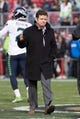 January 1, 2017; Santa Clara, CA, USA; Seattle Seahawks general manager John Schneider before the game against the San Francisco 49ers at Levi's Stadium. The Seahawks defeated the 49ers 25-23. Mandatory Credit: Kyle Terada-USA TODAY Sports