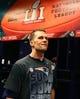 Feb 5, 2017; Houston, TX, USA; New England Patriots quarterback Tom Brady (12) in the locker room after defeating the Atlanta Falcons during Super Bowl LI at NRG Stadium. Mandatory Credit: Mark J. Rebilas-USA TODAY Sports